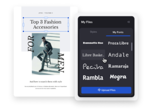 choose fonts for your newsletter
